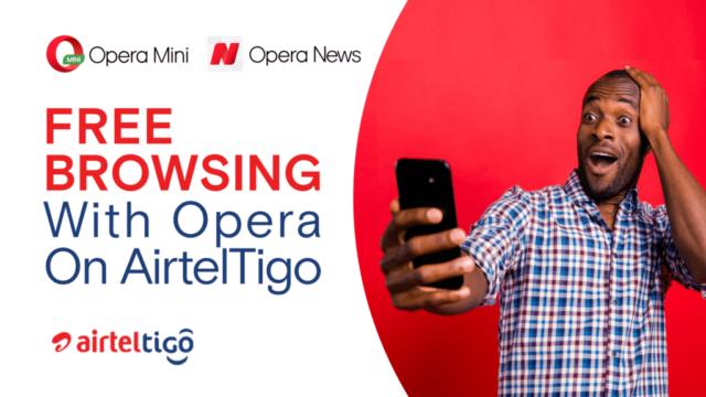 AirtelTigo partners Opera