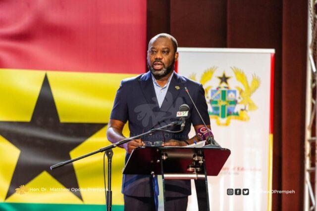 Dr Matthew Opoku-Prempeh